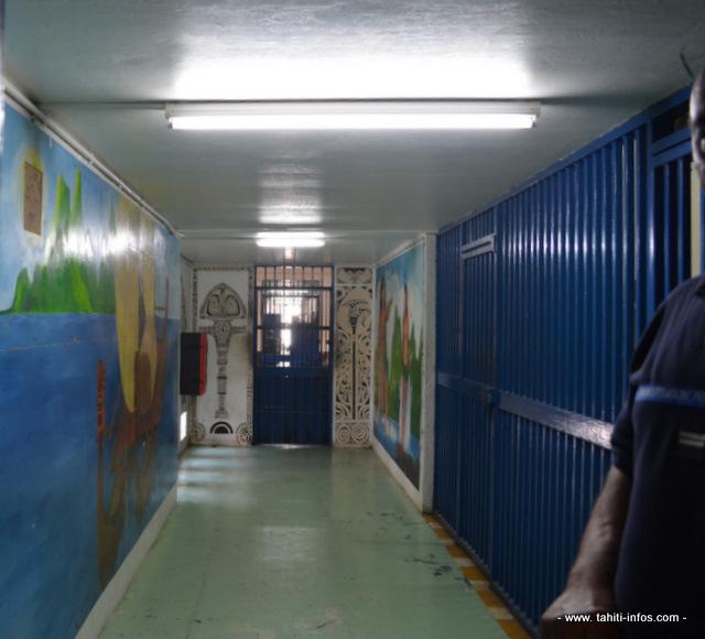 Un couloir de la prison de Nuutania (Photo d'illustration).