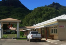 L'hôpital de Taiohae sur l'île de Nuku Hiva.