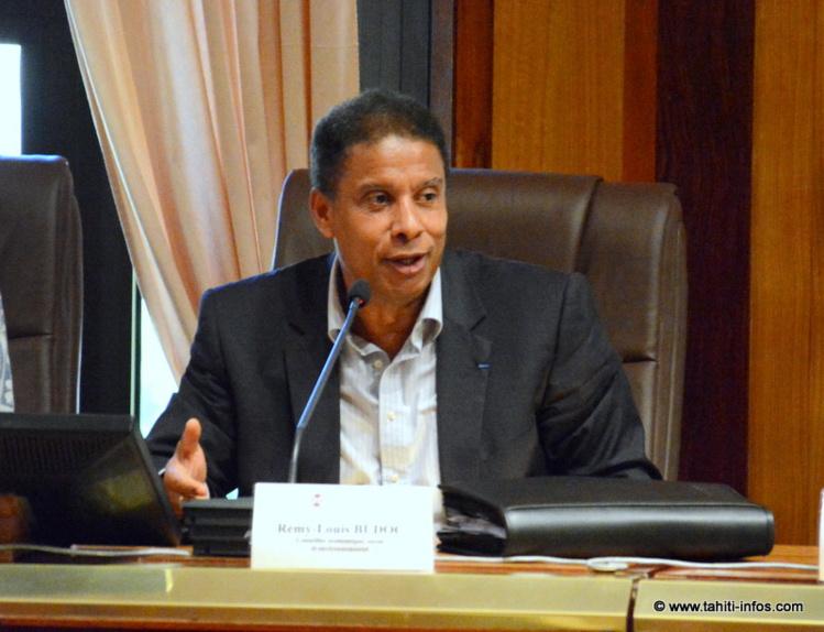 Rémy-Louis Budoc répond aux questions des membres du CESC