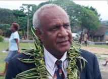 Sato Kilman, ministre des affaires étrangères et du commerce extérieur de Vanuatu
