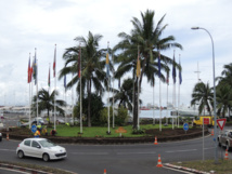 Baptisé officiellement en juin 2014, le rond-point du Pacifique devrait disparaitre à peine plus d'un an plus tard.