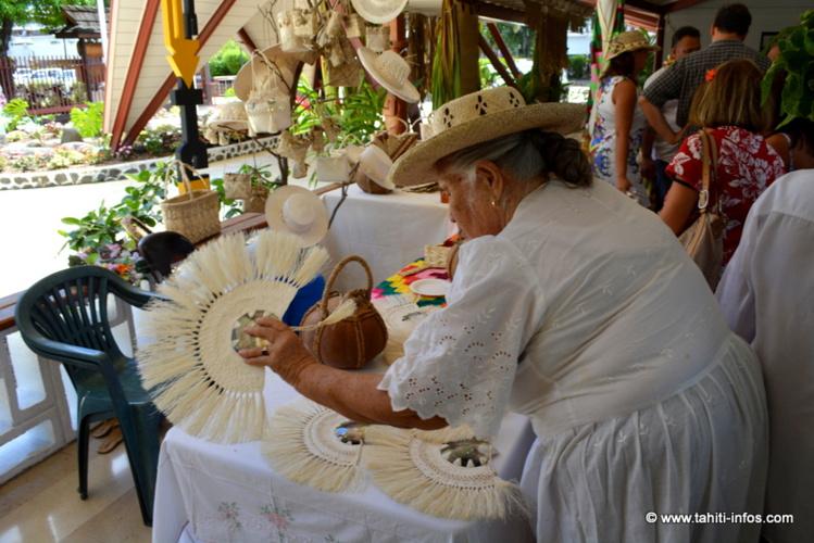 L'artisanat des Australes à l'honneur dans le hall de l'Assemblée