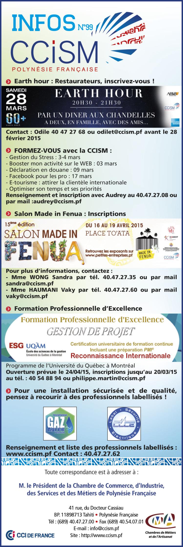 Infos CCISM N°99