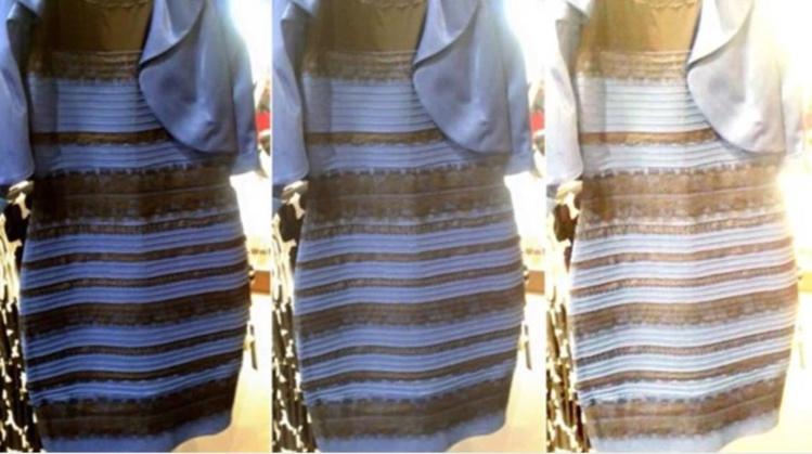 Robe bleu et noire debat