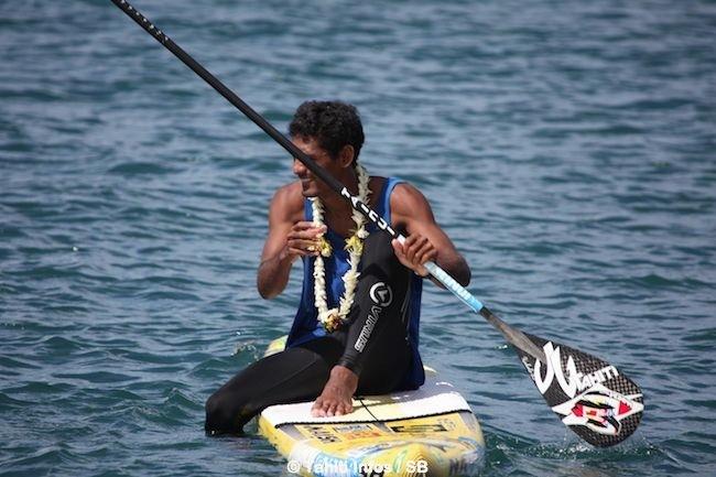Niuhiti Buillard, futur N°1 du SUP tahitien ?