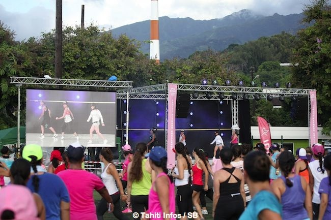 Fitness – Tahiti Fitness Challenge 2015 : Grosse affluence.