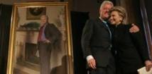 USA: l'ombre de Monica Lewinsky dans un portrait de Bill Clinton
