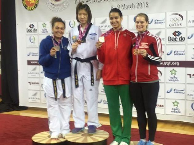Taekwondo – Tournée du Golfe : Bilan positif pour Anne Caroline Graffe.