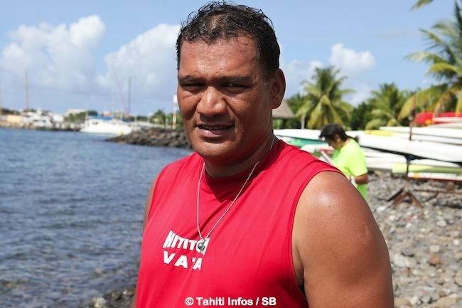 Tauhiti Nena, président du COPF