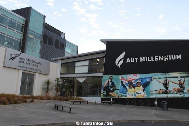 Les deux Tahitiens ont été accueillis au National Training Center de Auckland, réservé aux sportifs de haut niveau