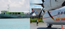 Le schéma directeur des transports interinsulaires pour les années 2015-2025 fera concilier les moyens aériens et maritimes.