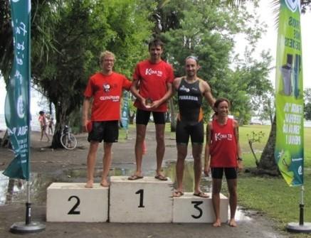 Triathlon : Yoann Hotellier remporte le tri Gauguin