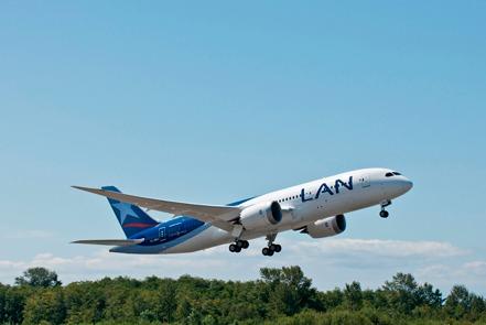 Lan Chile en Boeing 787-8 Dreamliner à partir de septembre