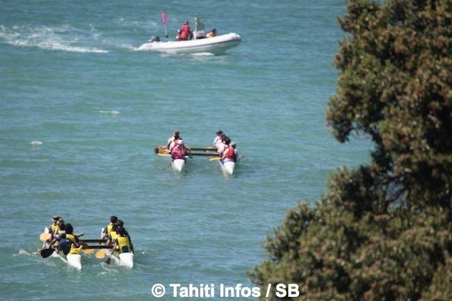 Du va'a Tauati en NZ