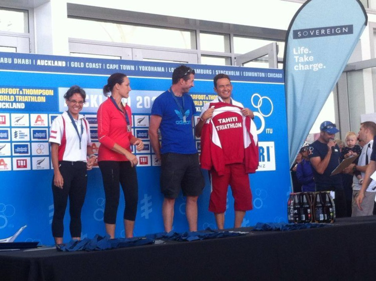 Triathlon d'Auckland : Belles perfomances de nos triathlètes