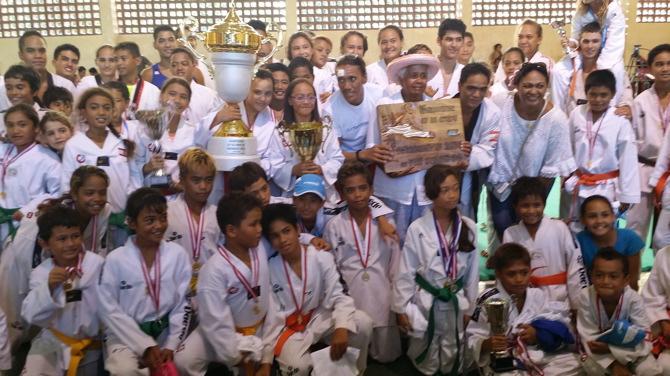 Taekwondo: Le TKD Taputapuatea remporte la Coupe des Raromatai 2015