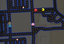 Google Maps se métamorphose en Pac-Man, le célèbre jeu vidéo