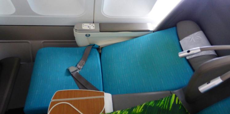 Siège Business Air Tahiti Nui sur A340