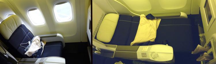 "Siège Business Air France ""NEV4"" sur 777"