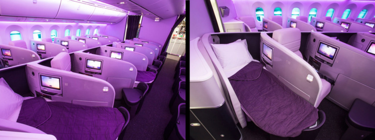 Business Premier sur 787-9 Air New Zealand (crédit photo Air New Zealand