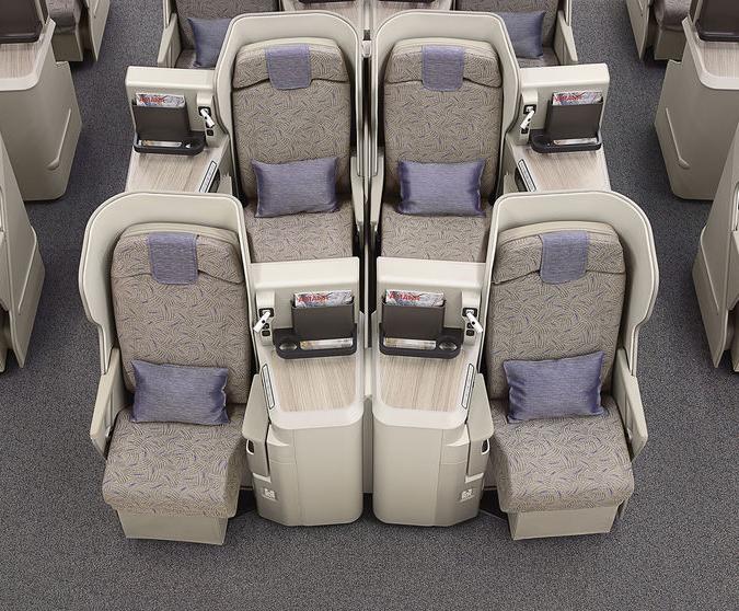 Business Asiana sur A380 (crédit photo Asiana)