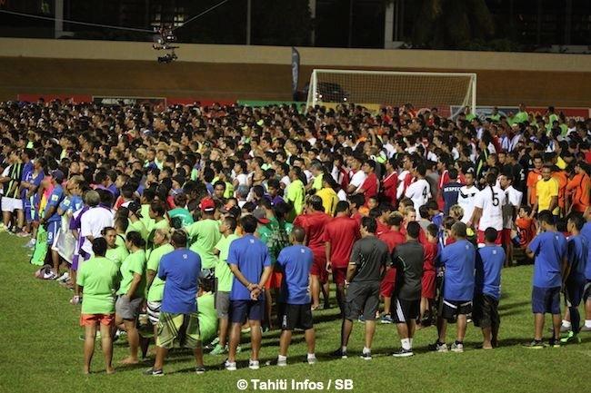 Ballon rond – Festival des îles : L'unité du Pays à travers le football et ses variantes.