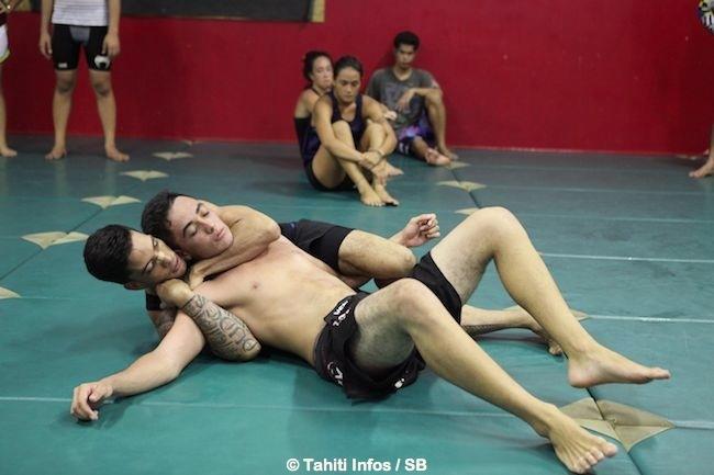 Les combattants du club Islander MMA sont présent sur 7 combats sur 8.