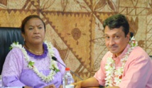 Nuihau Laurey et Lana Tetuanui ouvrent leur QG de campagne lundi soir