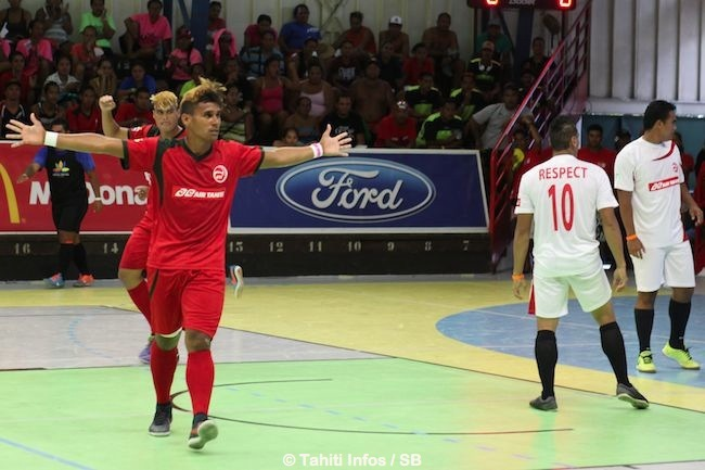 Punaauia remporte la finale futsal 8-1 contre Taha'a