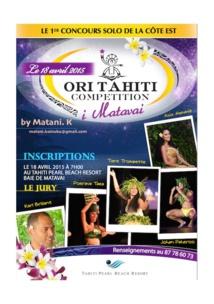 Ori Tahiti Competition i Matavai