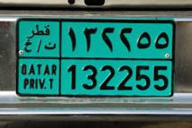 Les Qataris prêts à dépenser des millions pour leur numéro d'immatriculation