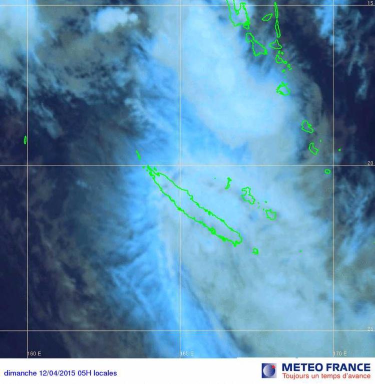 Alertes pour fortes pluies sur la Nouvelle-Calédonie