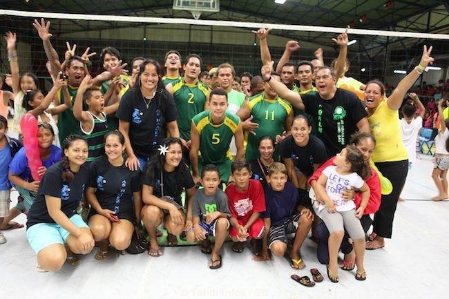 Challenge Polynésie 2015 – Volley : Une finale d'exception remportée par Bora Bora.