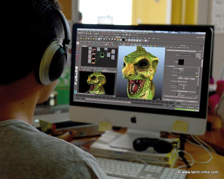 Studio Poly3D : une école à Tahiti pour apprendre à créer des jeux vidéo