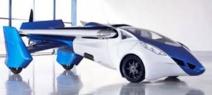 L'aéromobile coûterait un million d'euros, pourrait voler à 200 km/h et aurait une autonomie de 700 kilomètres.  (Photo Aeromobil)