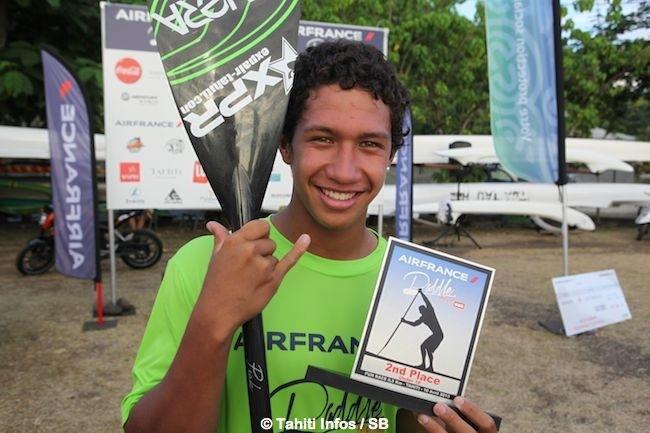 Poenaiki Raioha, le jeune prodige polynésien est fier de représenter la Polynésie Française à l'international