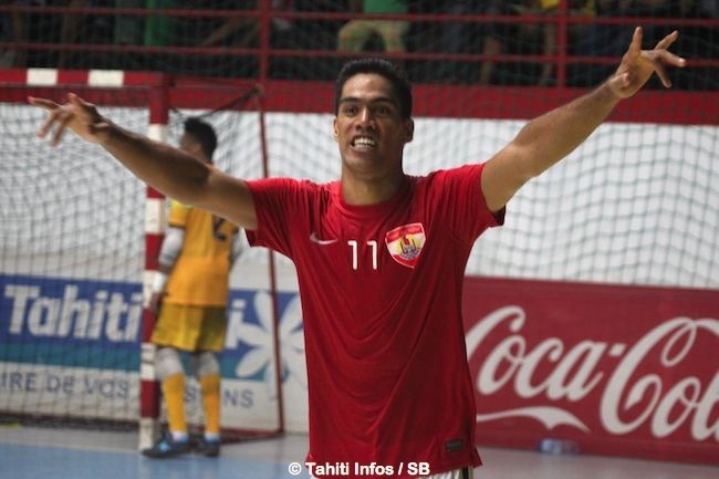 Tane Tave marque les 2 premiers buts tahitiens