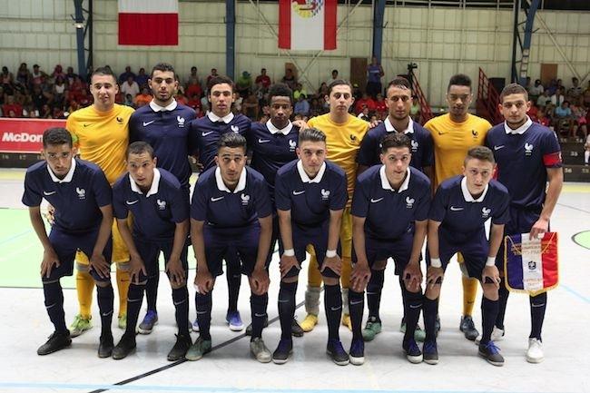 Futsal – Tahiti vs France : Belle entrée en matière pour les Aito Arii, malgré un match nul 5-5.