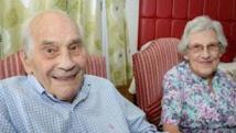 Ils se marient à 91 et 103 ans!
