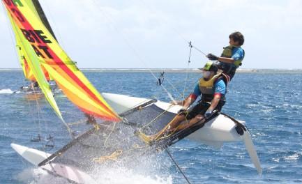 Voile : Championnat de Polynésie « Hobie Dragoon 2015 »