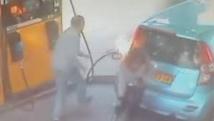 Israël: on lui refuse une cigarette, elle met le feu à la pompe à essence