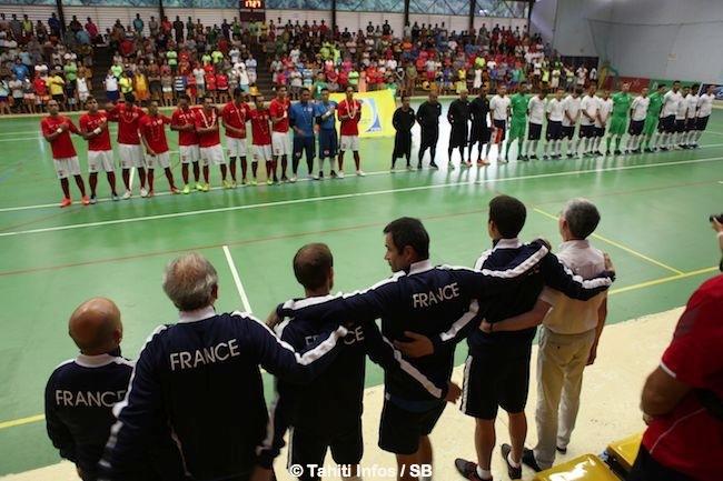 Le 2ème match amical a tourné à l'avantage des bleus.