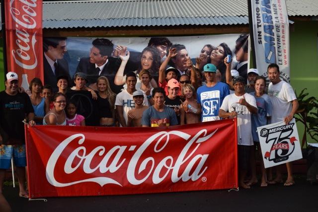 Surf local – Coupe de Tahiti : La compétition junior s'est déroulée à Teahupo'o.
