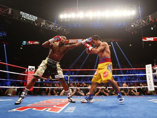 Boxe – Mayweather vs Pacquiao : une victoire controversée qui a intéressé la Polynésie.