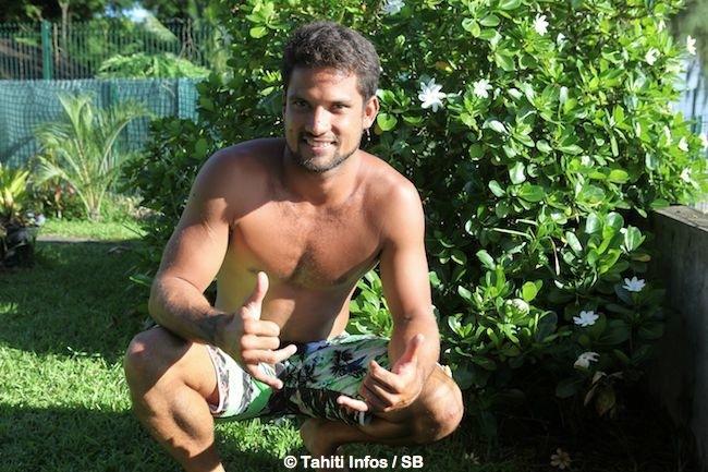Michel accueille Tahiti Infos régulièrement pour des interviews.
