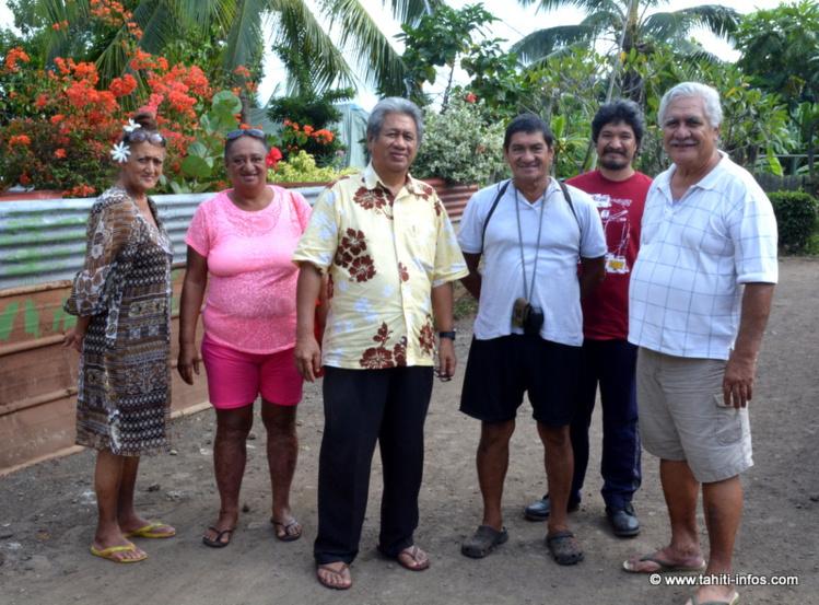 Les représentants des différentes associations de riverains de Outumaoro