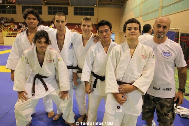 Vénus Judo, avec Bernard Di Rollo à droite