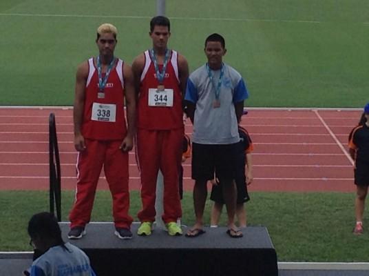 Athlétisme « Oceania Cairns 2015″ : Et de 8 médailles pour Tahiti