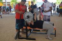 Compétition de CrossFit et de StrongestMan 2015 à Bora Bora