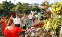 Le jury du concours « J'embellis ma commune » fait le tour de l'île de Tahiti